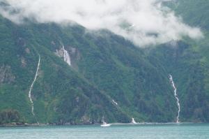 Entering Valdez Harbor