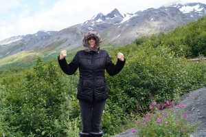 At Worthington Glacier