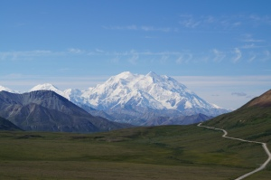 Mt. Denali from 35 miles away.