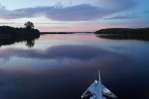 Heading south on the Myakka River